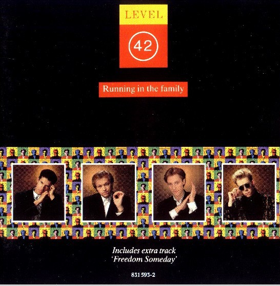 Level 42 Running In The Family LP