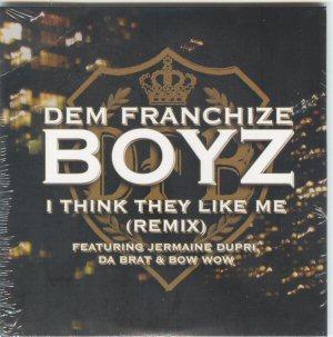 DEM FRANCHIZE BOYZ - I Think They like me 4 REMIX Euro PROMO CDS - CD single