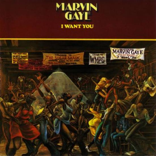 Marvin Gaye - I Want You Cd
