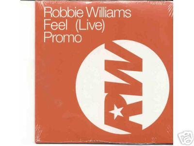 Robbie Williams - Feel Live Promo Cd