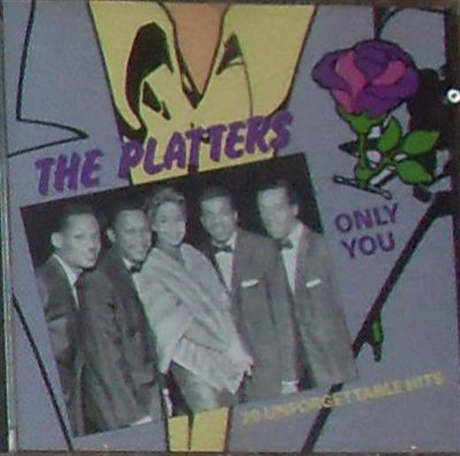 Platters - Only You 20 Unforgetable Hits Cd