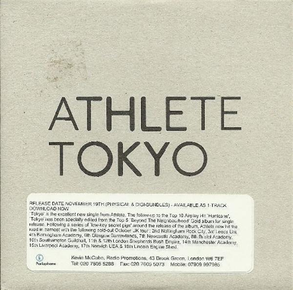 Athlete Tokyo PROMO CD