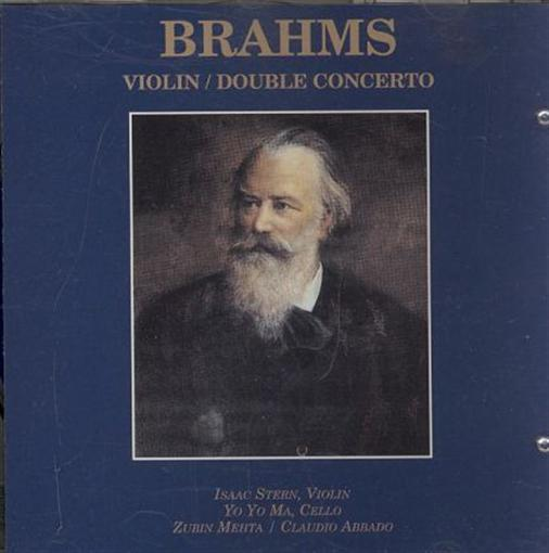 chicago symphony orhestra violin / double concerto (brahms) cd