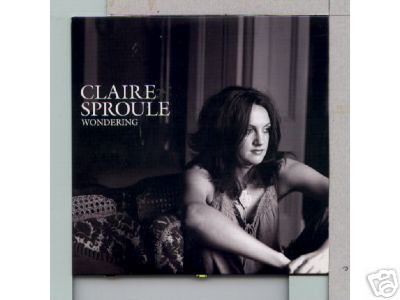 CLAIRE SPROULE - Wondering Euro promo CD - CD single