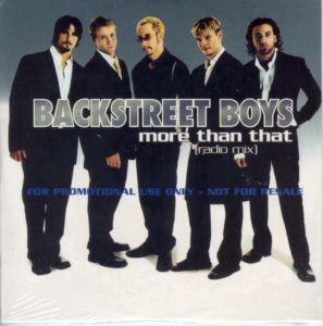 Backstreet Boys More than that PROMO CDS
