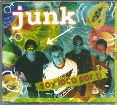 junk Soy loco por ti PROMO CDS