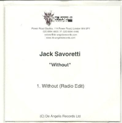 JACK SAVORETTI WITHOUT ACETATE CD