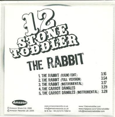 12 stone toddler the rabit ACETATE CD