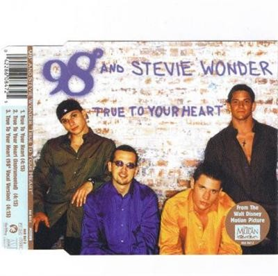 98 Degrees True To Your Heart Stevie Wonder CDS