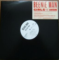 "Beenie Man Girls 12"" Promo Akon"