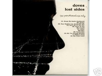 Doves Lost Sides B-Sides Collection promo CD