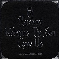 Ed Harcourt Watching The Sun Come Up REMIX PROMO CDS
