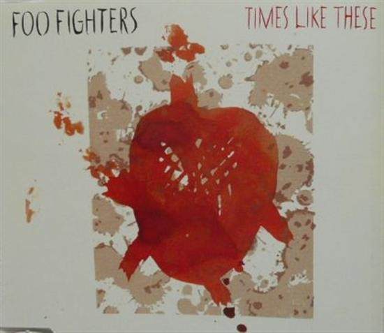 Foo Fighters Times Like These PROMO CD-SINGLE