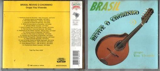 Grupo Vou Vivendo Brasil Revive O Chorinho CD