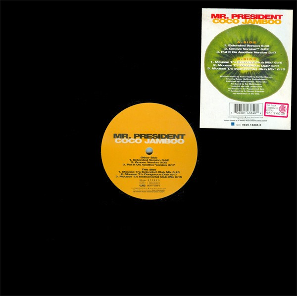 Mr. President Coco Jamboo 12""