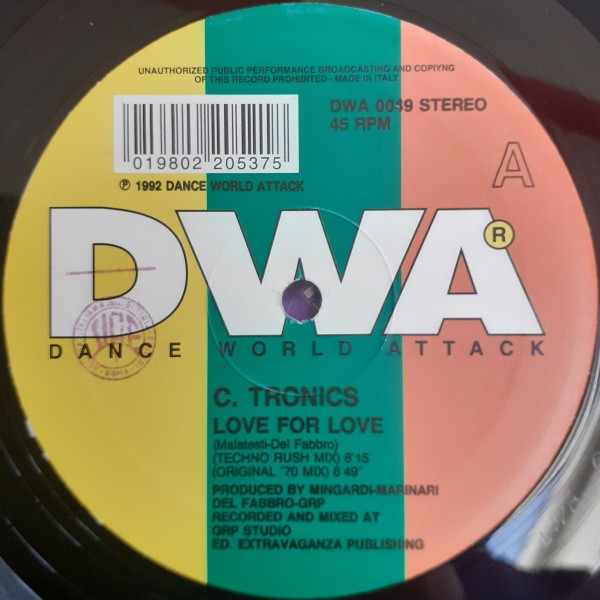 C. Tronics Love For Love 12""