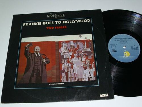 """Frankie Goes To Hollywood Two Tribes (Annihilation) 12"""""""