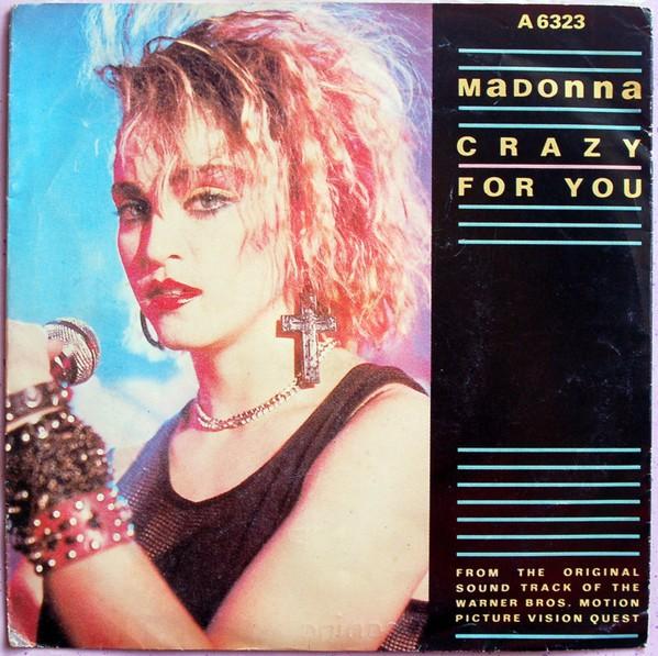 """Madonna Crazy For You 7"""""""