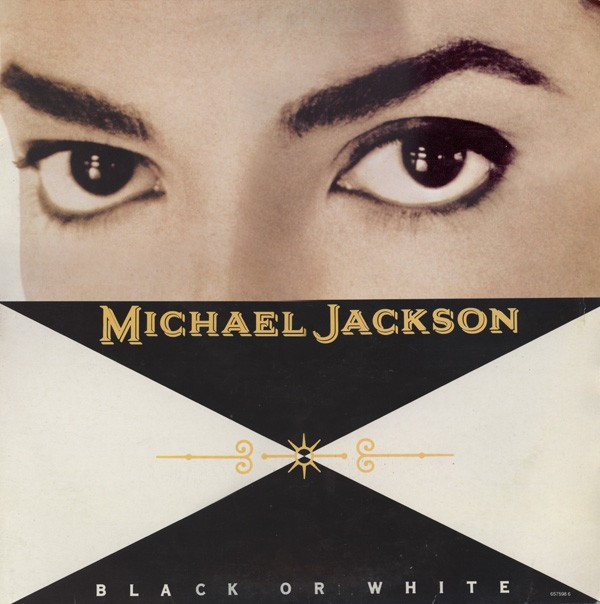 "Michael Jackson Black Or White 12"""