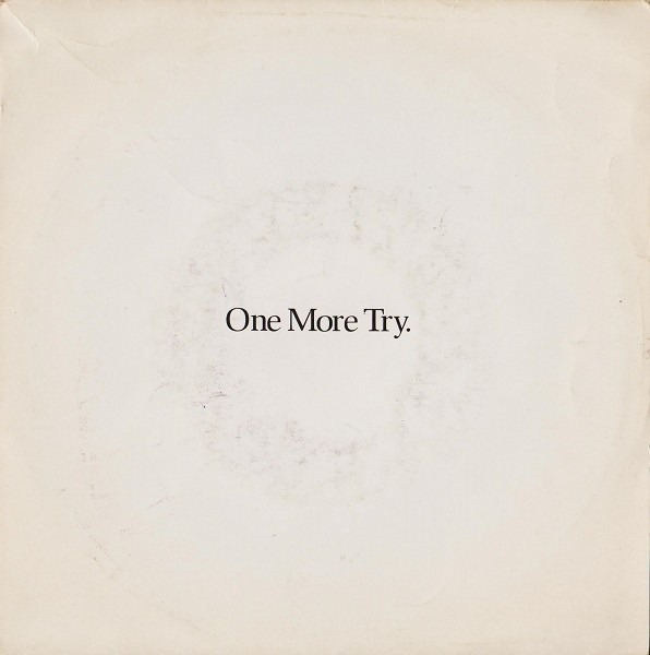 George Michael One More Try 7""