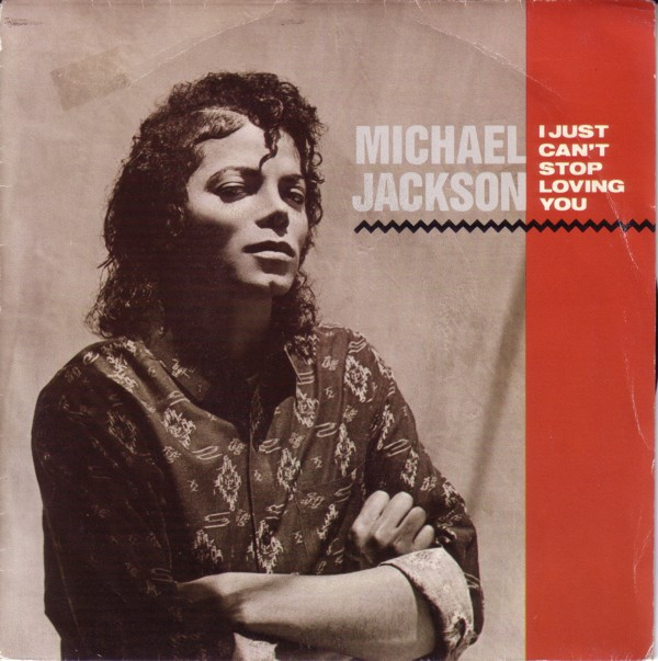 Michael Jackson I Just Can't Stop Loving You 7""