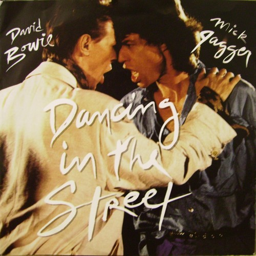 """David Bowie  Mick Jagger Dancing In The Street 12"""""""