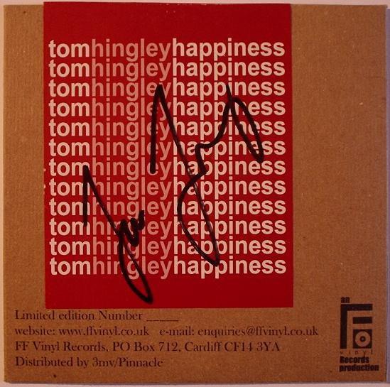 Tom Hingley Happiness CD