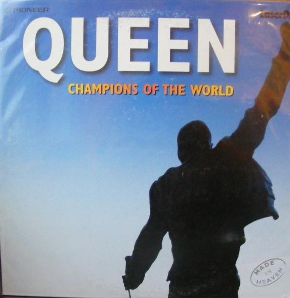 """Queen Champions Of The World 12"""""""