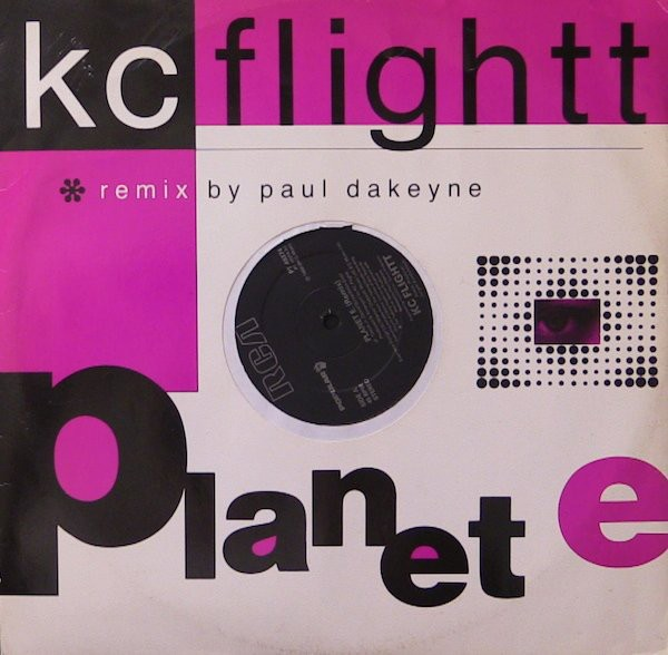 KC Flightt Planet E (Remix) 12""