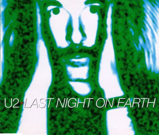 U2 Last Night On Earth CD