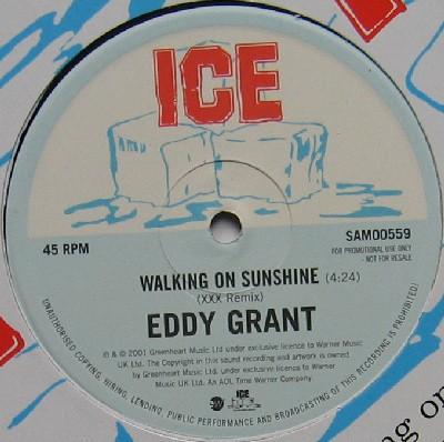 "Eddy Grant Walking On Sunshine (XXX Remix) 12"""