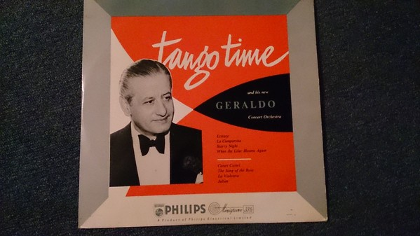 Geraldo And His Orchestra Tango Time 10""
