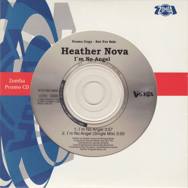 Heather Nova I'm No Angel CD