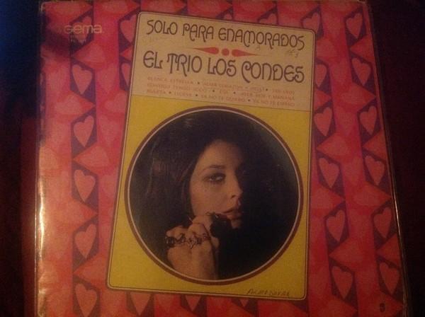 Trio Los Condes Solo Para Enamorados LP