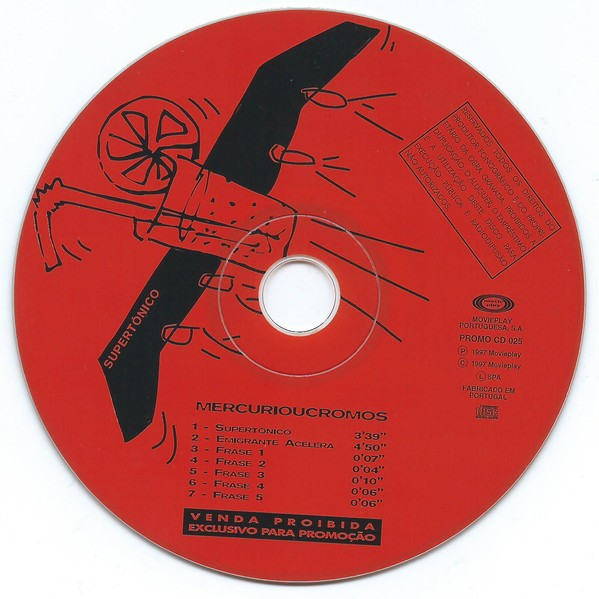 Mercúrioucromos Supertónico CD