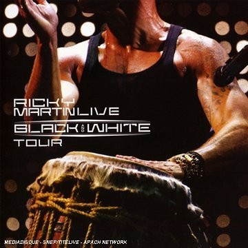 Ricky Martin Live: Black and White Tour CD+DVD