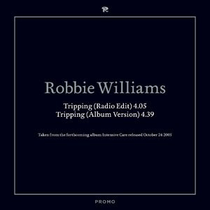 Robbie Williams Tripping 2 track PROMO CDS