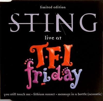 Sting Live At Tfi Friday CDS
