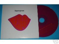 Supergrass Kiss of Life euro promo cd