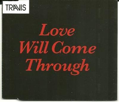 Travis Love Will Come Through PROMO CDS