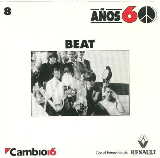 Various Artists Cambio 16 Anos 60 Beat CD