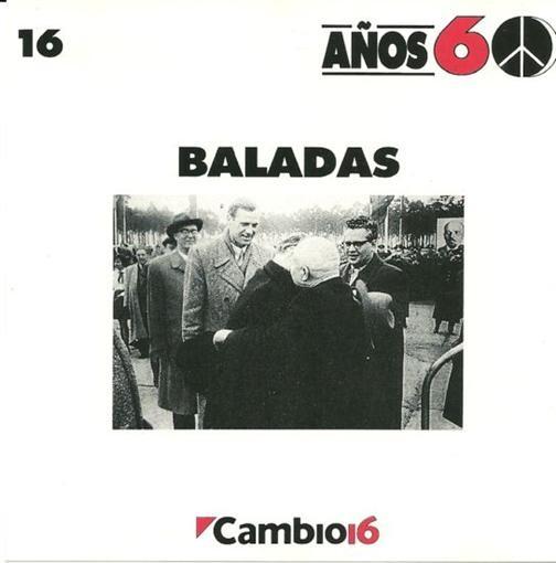 Various Artists Cambio 16 Anos 60 Baladas Volume 16 CD