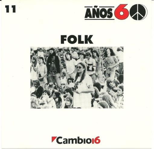 Various Artists Anos 60 Folk Volume 11 CD