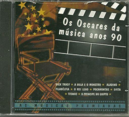 Various Artists Os Oscares Da Musica Anos 90 CD