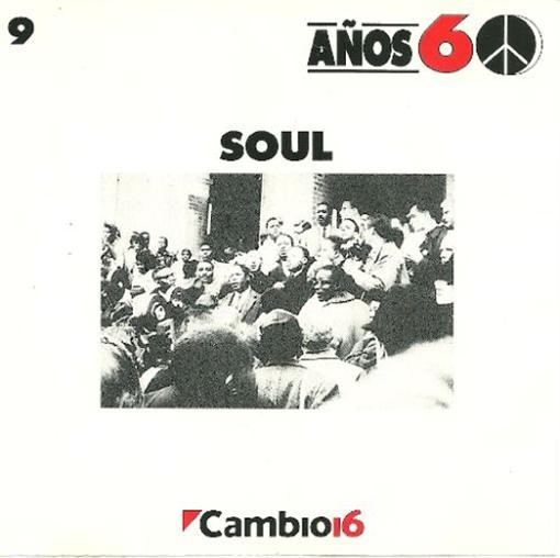 Various Artists Cambio 16 Anos 60 Soul CD
