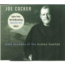 Joe Cocker What becomes of the broken hearted PROMO CDS