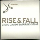 Craig David featuring Sting Rise & Fall PROMO CDS