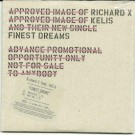 Richard X feat Kelis Finest Dreams PROMO CDS