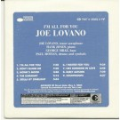 joe lovano Im all for you PROMO CDS