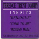 Terence Trent d'Arby inedits PROMO CDS